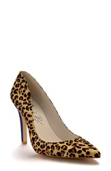 Shoes Of Prey Women's Pointy Toe Pump Leopard Hair