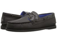 Sperry A O 2 Eye Storm Black Men's Lace Up Moc Toe Shoes