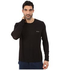 Hugo Boss Long Sleeve Crew Modal Black Men's T Shirt