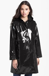 Women's Jane Post 'Princess' Rain Slicker With Detachable Hood