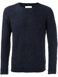 Harmony Paris Crew Neck Jumper Blue