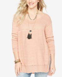 Wendy Bellissimo Maternity Relaxed Fit Sweater Muted Clay