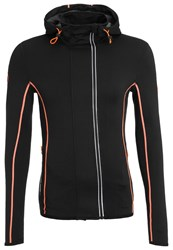 Superdry Runner Tracksuit Top Black