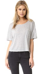 Rails Billie Tee Heather Grey