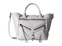 Botkier Trigger Convertible Satchel Steel Satchel Handbags Silver