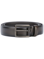 Ermenegildo Zegna Buckled Belt Brown