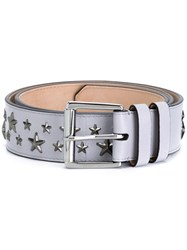 Jimmy Choo 'Archer' Belt Grey