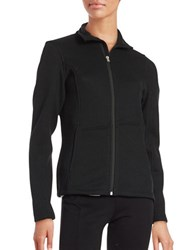 Spyder Endure Textured Mockneck Jacket Black