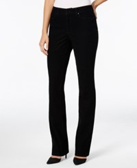 Charter Club Flocked Black Rinse Lexington Straight Jeans Only At Macy's