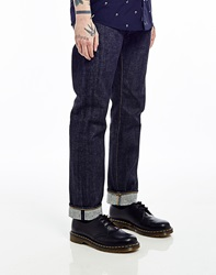 Edwin Ed55 14Oz Red Listed Selvedge Relaxed Tapered Jean Unwashed