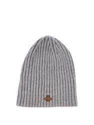 Gucci Ribbed Knit Hat Grey