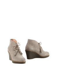 Scholl Ankle Boots Brown