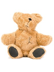 Filles A Papa 'Martin' Teddy Bear Backpack Nude And Neutrals