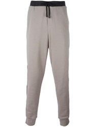 Public School Piping Detail Joggers Nude Neutrals