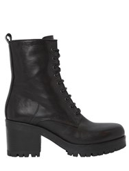 Strategia 50Mm Leather Lace Up Boots