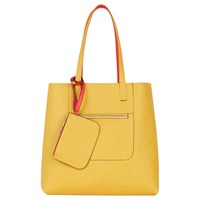 Oasis Renee Reversible Shopper Bag Orange Multi