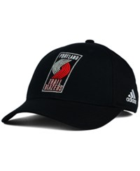 Adidas Portland Trail Blazers Structured Basic Adjustable Cap Black