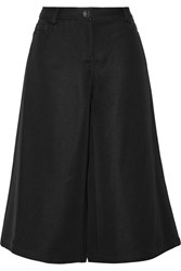Opening Ceremony Oris Faille Wide Leg Pants Black