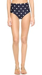 Kate Spade Bolsa Chica High Waisted Bottoms Rich Navy