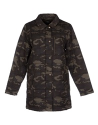 Dr. Denim Jeansmakers Jackets Military Green