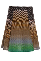Missoni Zz Short Large Pleat Skirt 31