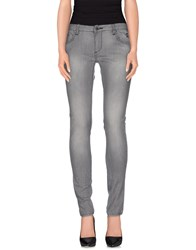 Sweet Years Denim Denim Trousers Women Grey