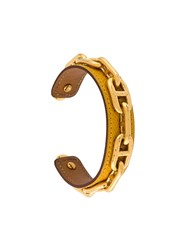 Herma S Vintage Anchor Cuff Yellow And Orange