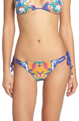 Trina Turk Women's 'Tapestry' Side Tie Bikini Bottoms