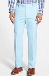 Men's Big And Tall Peter Millar 'Raleigh' Washed Twill Pants Tar Heel Blue