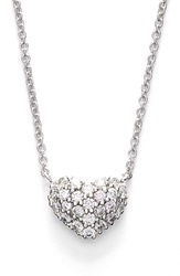 Bony Levy Diamond Pave Heart Pendant Necklace Limited Edition Nordstrom Exclusive White Gold