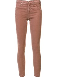 Ag Jeans 'The Legging' Pink Purple