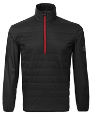 Oscar Jacobson Manny Half Zip Jacket Black