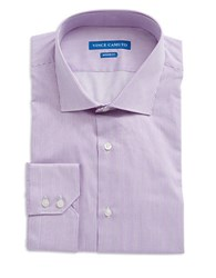 Vince Camuto Modern Fit Striped Dress Shirt Purple