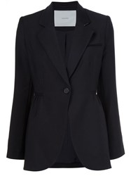Adam By Adam Lippes Single Button Blazer Black