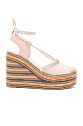 Jeffrey Campbell Rizzoli Wedge Beige