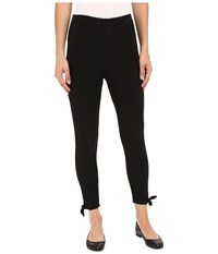 Lysse Tie Cotton Crop Pants Black Women's Casual Pants