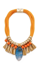 Holst Lee On The Beach In Hawaii Necklace Orange Multi