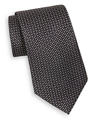 English Laundry Dot Silk Tie Black