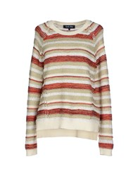 April May Sweaters Beige