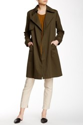 Shades Of Grey Trench Coat Green
