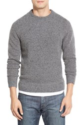 Men's Wallin And Bros. 'Donegal' Crewneck Sweater Grey Phantom