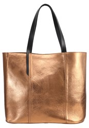 Kiomi Tote Bag Bronze Gold Brown