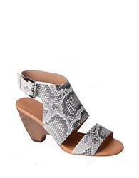 Corso Como Prolar Leather Sandals Grey