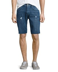 Hudson Jeans Hess Cutoff Denim Shorts Blue Men's