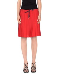 Ottod'ame Skirts Knee Length Skirts Women Red