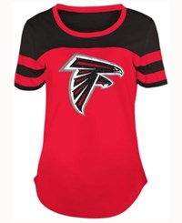 5Th And Ocean Women's Atlanta Falcons Limited Edition Rhinestone T Shirt Red