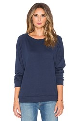 Nation Ltd. Raglan Sweatshirt Navy