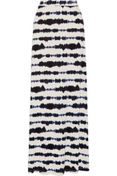 Tart Collections Sam Printed Stretch Modal Maxi Skirt White