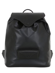 Maison Martin Margiela Faux Leather And Leather Backpack