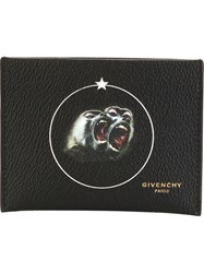 Givenchy Monkey Brothers Card Holder Black